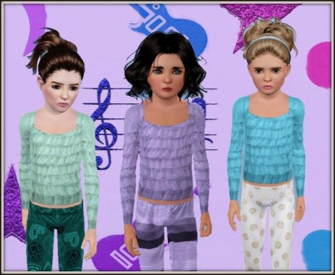 Layered Top  от Precious Sims