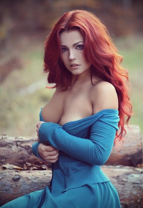 Потрясающие рыжеволосые девушки