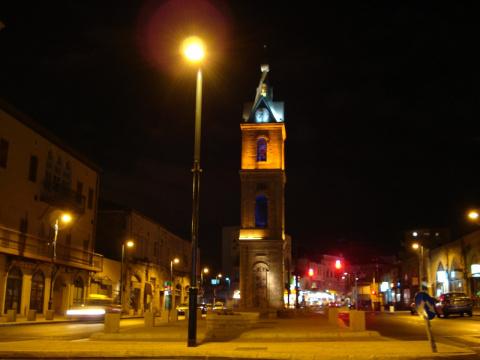 Ночное Яффо