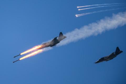 Боевой тандем: ВКС РФ и ВВС …