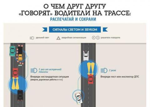 Язык водителей: как общаться на дороге