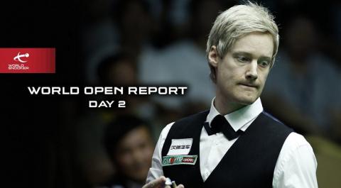Итоги второго дня World Open…