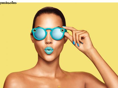 Первый гаджет Snapchat: очки…