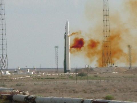 Киев обвинил Россию в передаче украинских ракетных двигателей КНДР