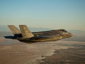 ВВС США получили первый серийный истребитель F-35