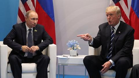 Трамп поблагодарил Путина за высылку из России американских дипломатов