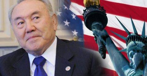 Назарбаев направляется в США…