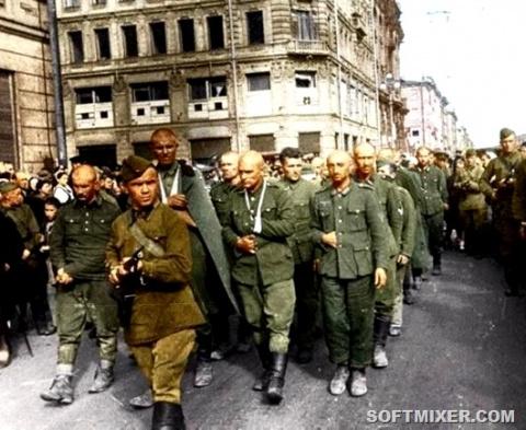 Жизнь пленных немцев в Совет…