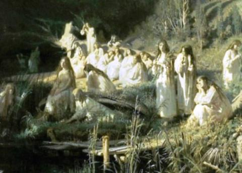 Мистическая история  — как …