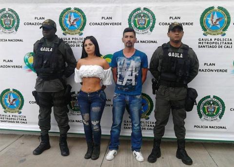 Колумбийская модель похитила двоих мужчин, заманив их в клубе в приват