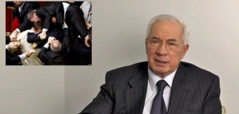 Азаров назвал ВРУ сборищем, …