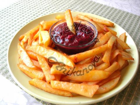 Картофель ФРИ В ДУХОВКЕ вкус…