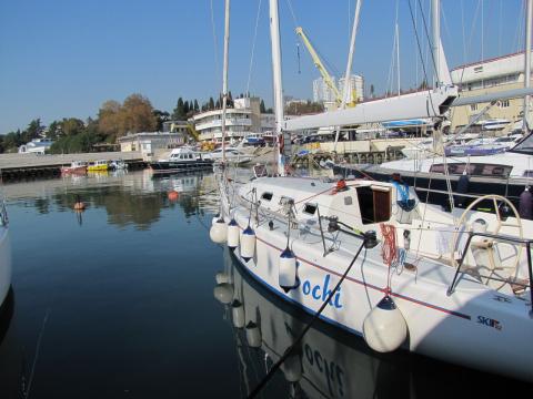 Яхты ждут вас в Сочи