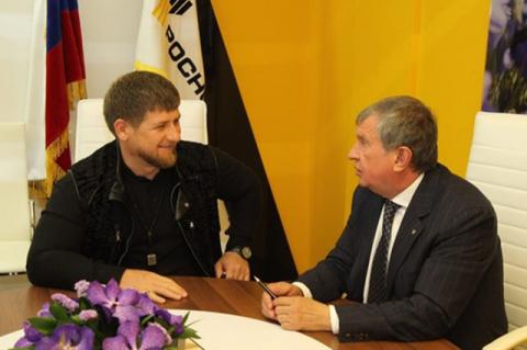 Сечин и Кадыров готовят суде…