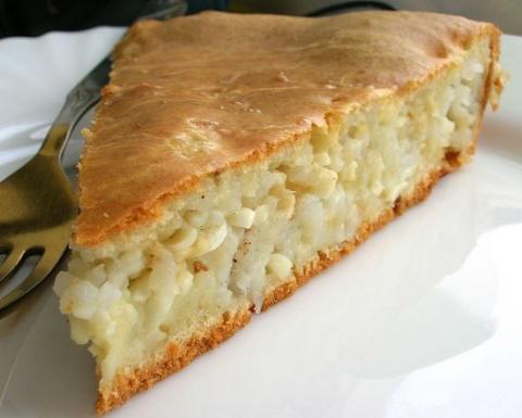 Как бабушка пирог с рисом и …