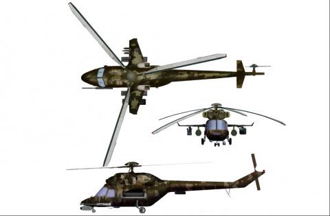 «Новый украинский вертолет» …