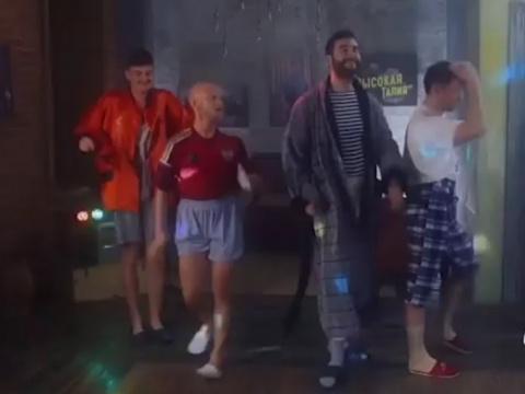 Клуб Урганта «Высокая талия» снял ролик вподдержку ульяновских курсантов