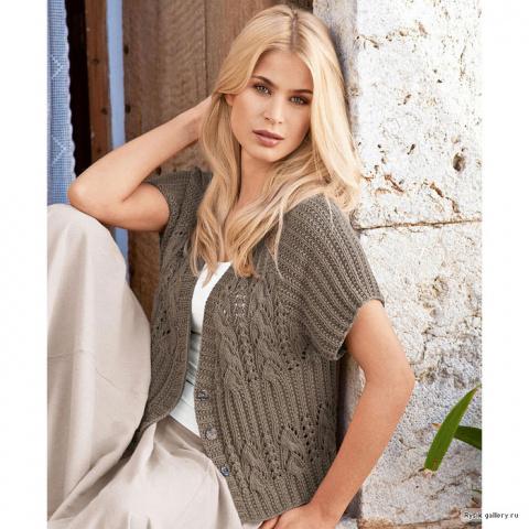 Сайт по вязанию спицами пальто