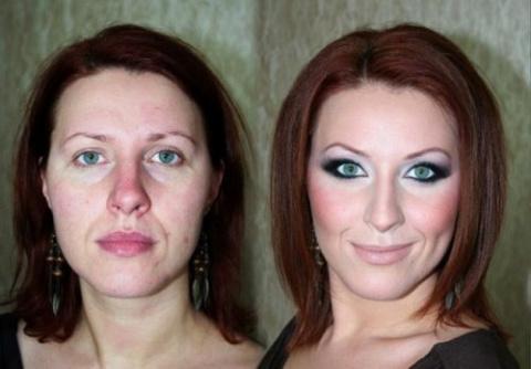 Как умелый макияж может прео…
