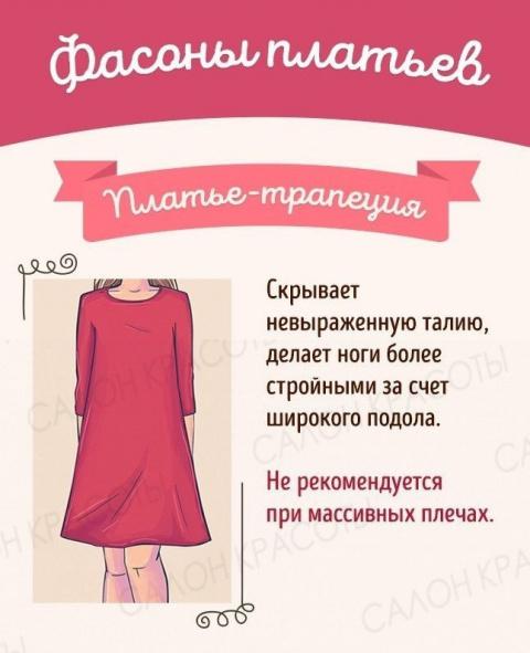 СЕКРЕТЫ КРАСОТЫ. Выбираем идеальное платье под свой тип фигуры