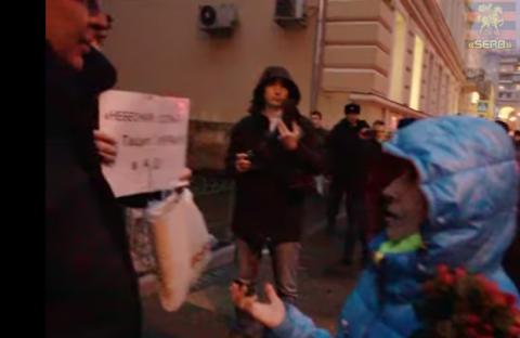 В Москве не дали либералам помянуть «Небесную сотню»