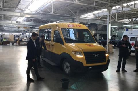 УАЗ создал школьный автобус