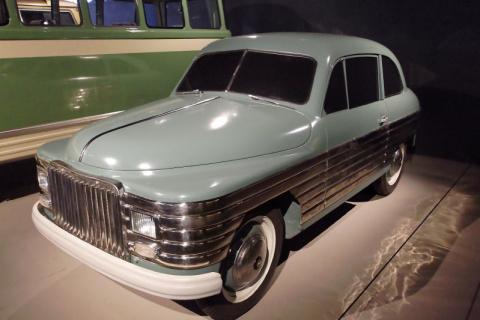 РЭАФ-50. Экспериментальный советский автомобиль конца 40-х