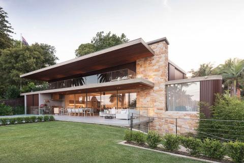 Уютный интерьер дома в пригороде Сиднея