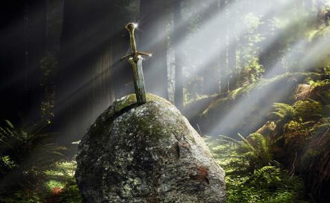 Легендарное оружие из глубин веков