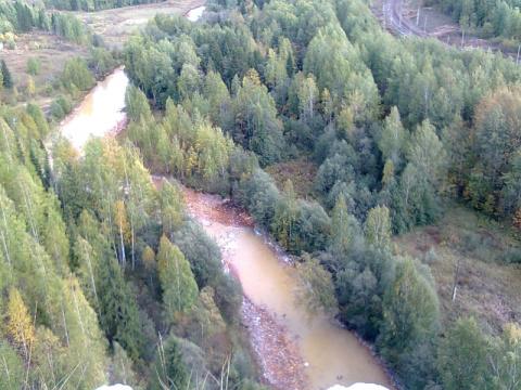 река Кизел в Расике