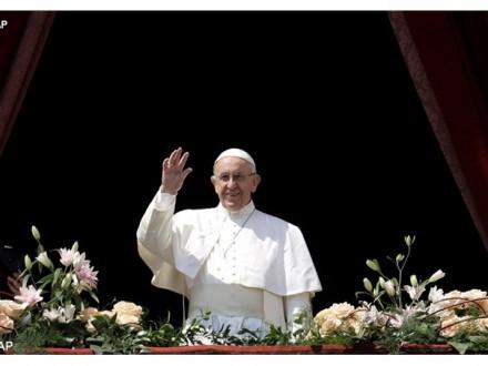 Папа Римский вспомнил Украину в одном ряду со странами Африки
