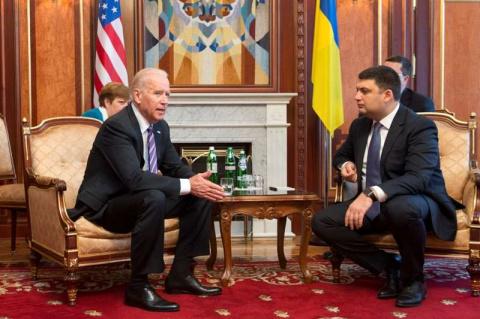 Джо Байден приезжал в Киев «…