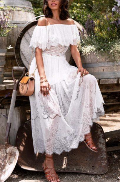 Тренды лета — 10 способов носить белое платье стильно, но не вычурно