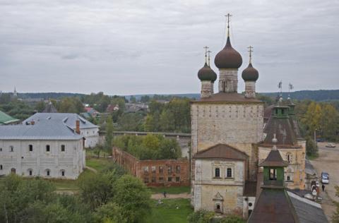 Сергиевская надвратная церковь Борисоглебского монастыря