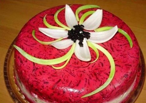 Настоящий торт-салат «Селедк…