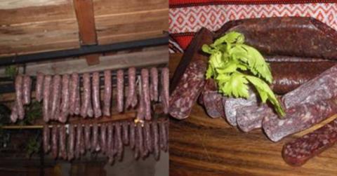 Научилась готовить колбасу д…