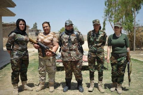 Роль женщины в войнах Ближне…