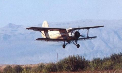Ан-2. Авиахимработы.