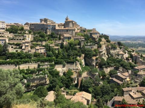 Горд - самый красивый город долины Люберон, Франция