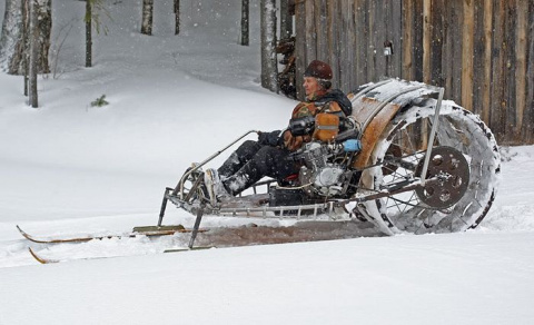 Снегоходы русских кулибиных