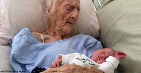 Это самая старая в мире МАТЬ…