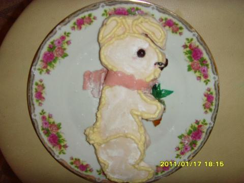 Зайчик для малышей