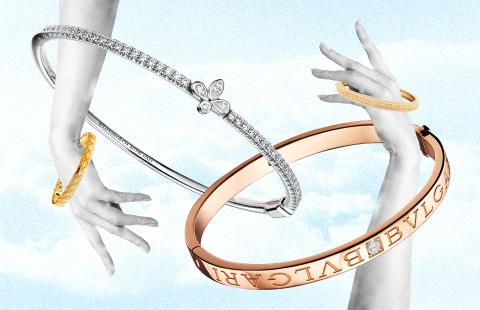 12 новых браслетов-обручей для загорелого запястья