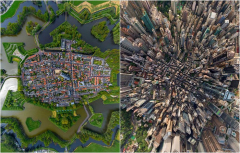 12 головокружительных фотографий, сделанных с высоты птичьего полета