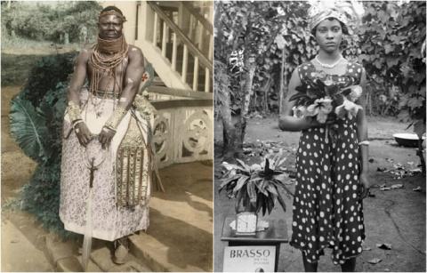 12 уникальных фотографий нигерийской королевской семьи, сделанные Соломоном Озэги Алонджем