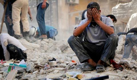 Ужасные кадры из-под Дамаска…