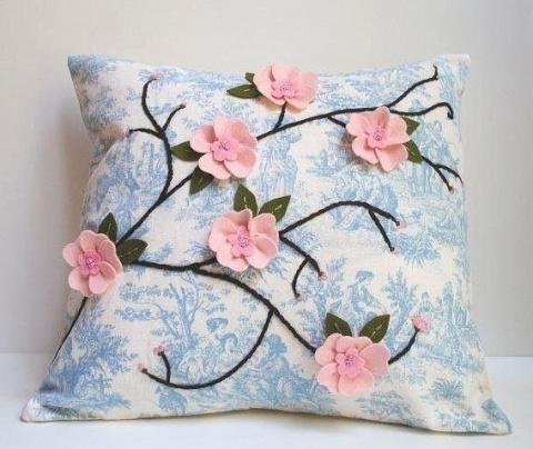 Декоративные подушки ручной …