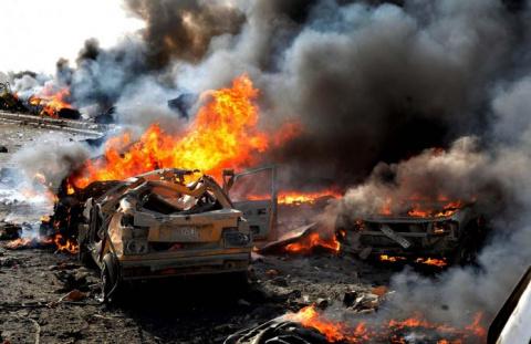 Сирия: колонны боевиков взле…