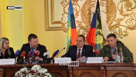 Глава ДНР Захарченко ВСУ и О…