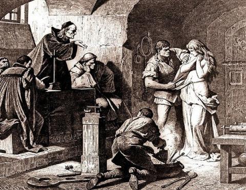 В Средние века проблема поху…
